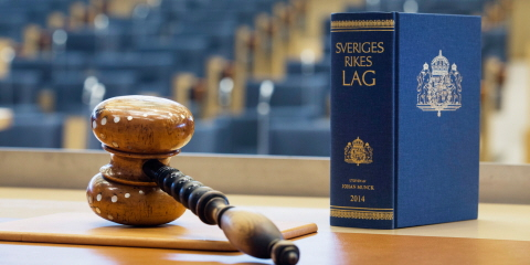 The Riksdag is responsible for passing all laws in Sweden.