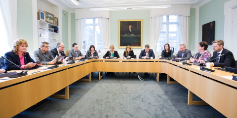 The Committee on Civil Affairs holds a meeting.