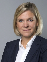 Finans­minister Magdalena Andersson